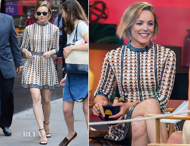 Rachel McAdams In Zuhair Murad - Good Morning America