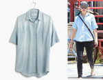Rachel McAdams' Madewell Chambray Courier Shirt
