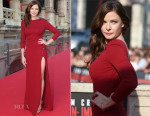 Rebecca Ferguson In Elie Saab - 'Mission: Impossible - Rogue Nation' World Premiere