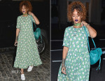 Rihanna In Marni - Out In New York