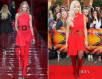 Rita Ora In Versace - X Factor Manchester Auditions