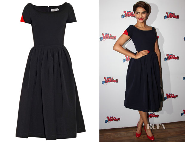 Sonam Kapoor's Preen By Thornton Bregazzi 'Tara' Bi-Colour Dress