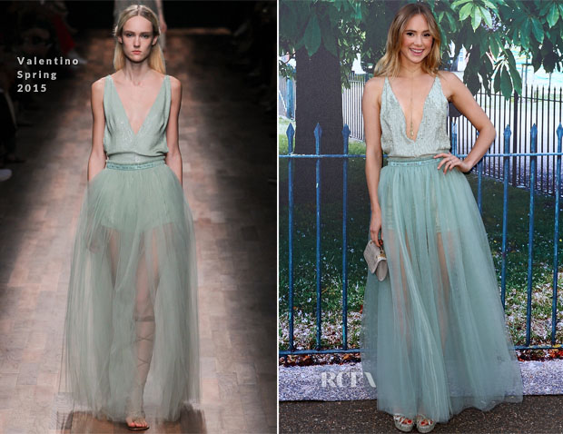 Suki Waterhouse In Valentino - The Serpentine Gallery Summer Party