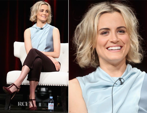 Taylor Schilling In 31 Phillip Lim - 2015 Summer TCA Tour