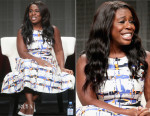 Uzo Aduba In LK Bennett - 2015 Summer TCA Tour