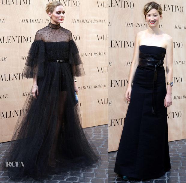 Valentino 'Mirabilia Romae' Fall 2015 Couture Front Row 2