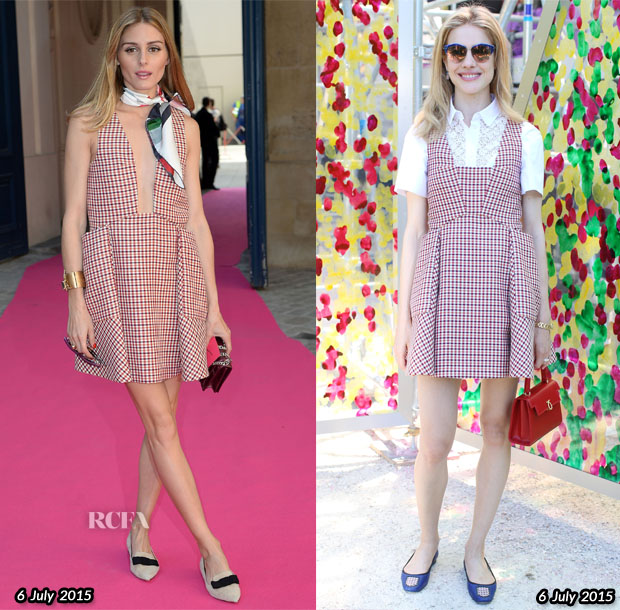 Who Wore Christian Dior Better Olivia Palermo or Natalia Vodianova