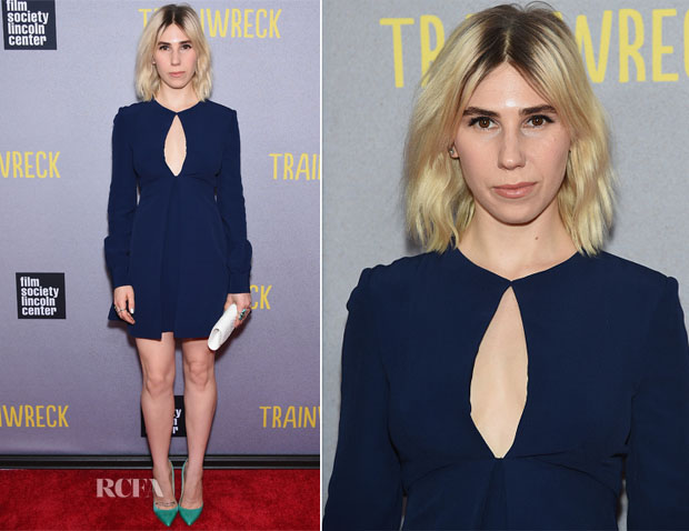 Zosia Mamet In Jill Stuart - 'Trainwreck' New York Premiere