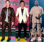 2015 MTV Video Music Awards #VMAs Red Carpet Menswear Roundup