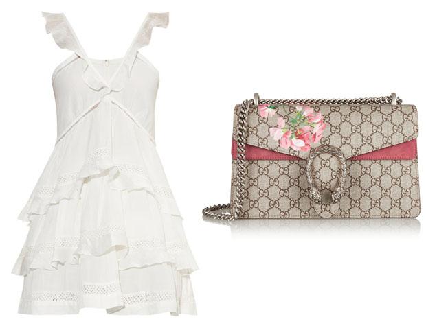 Alessandra Ambrosio In Étoile Isabel Marant Gucci Dionysus bag