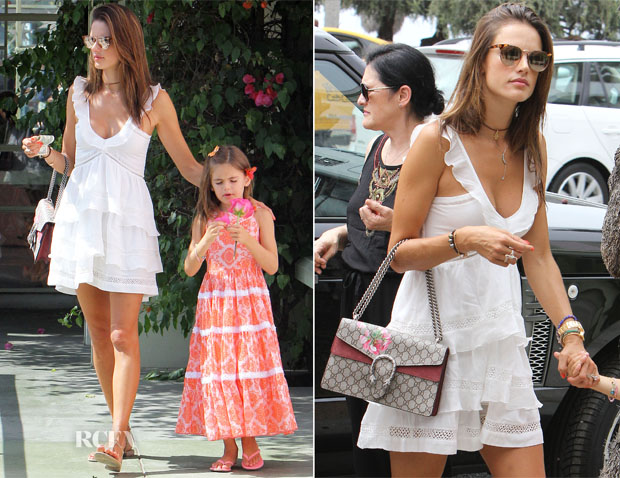 Alessandra Ambrosio In Étoile Isabel Marant - Out In Santa Monica