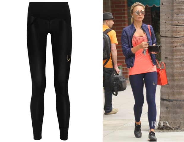 Alex Gerrard's Lucas Hugh Core Performance Stretch Leggings