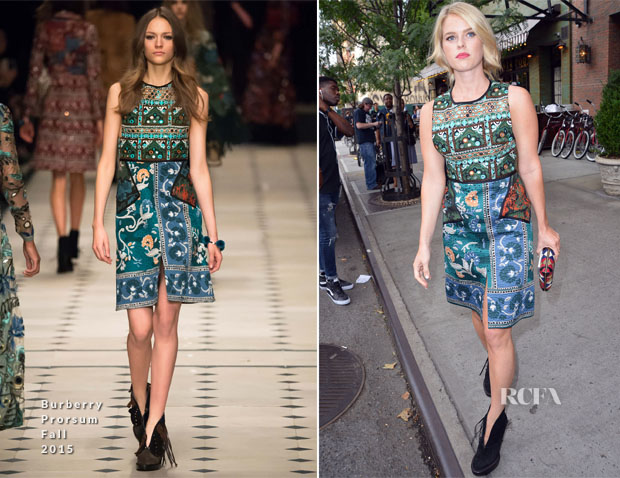 Alice Eve In Burberry Prorsum - 'Ricki And The Flash' New York Premiere