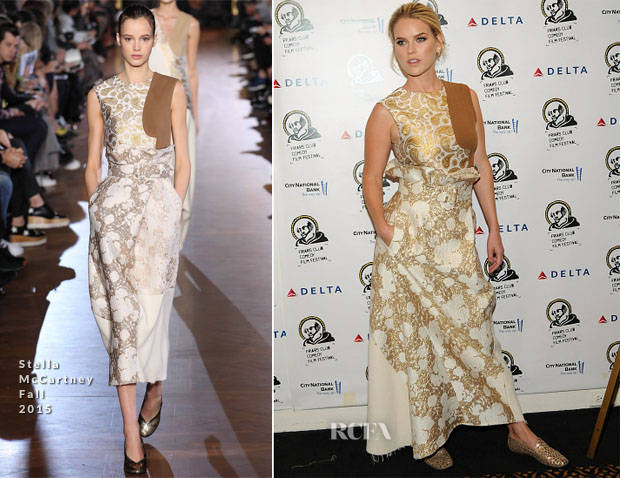 Alice Eve In Stella McCartney - The Friars Club Presents An Evening With 'Dirty Weekend'