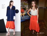 Alison Brie In Derek Lam - 'Sleeping With Other People' LA Screening