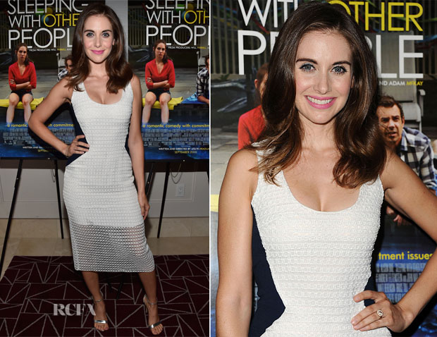 Alison Brie In Prabal Gurung  - 'Sleeping With Other People' LA Screening