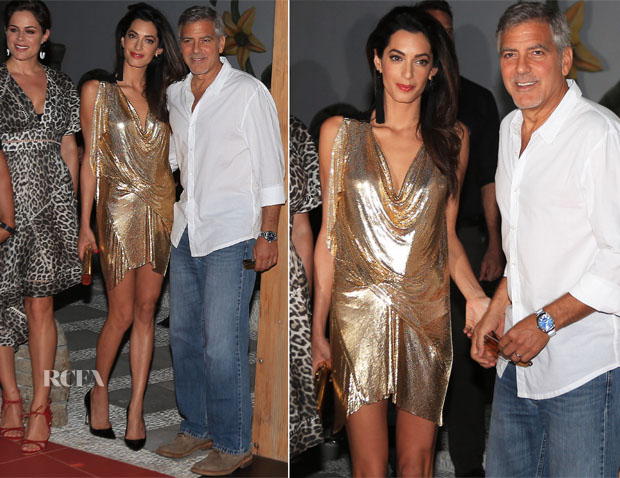 Amal Clooney In Vionnet - Casamigos Tequila Launch