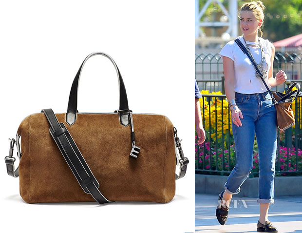 Amber Heard's Elizabeth and James Scott Duffel