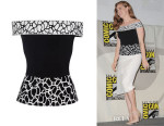 Amy Adams' Roland Mouret 'Mornington' Top