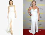 Amy Schumer's Halston Heritage Crepe Column Gown