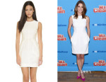 Ashley Greene's L'Agence 'Alexandra' Sleeveless Dress