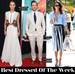 Best Dressed Of The Week - Alicia Vikander In Louis Vuitton, Jamie Chung In Proenza Schouler & Armie Hammer In Tom Ford
