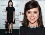 Bel Powley In Miu Miu - 'The Diary of a Teenage Girl' New York Screening