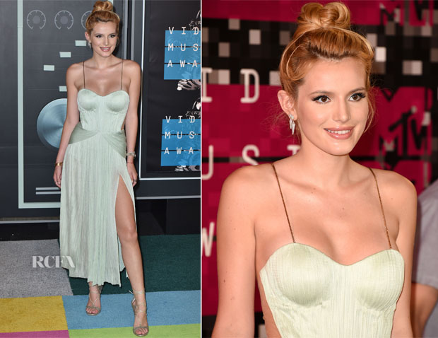 Bella Thorne In Maria Lucia Hohan - 2015 MTV Video Music Awards #VMAs