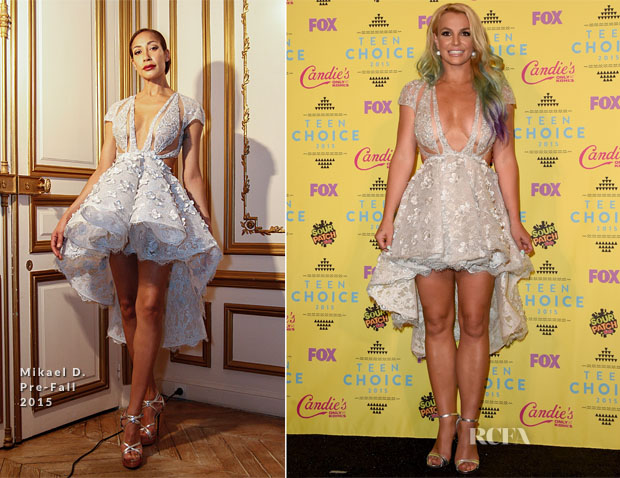 Britney Spears In Mikael D - 2015 Teen Choice Awards