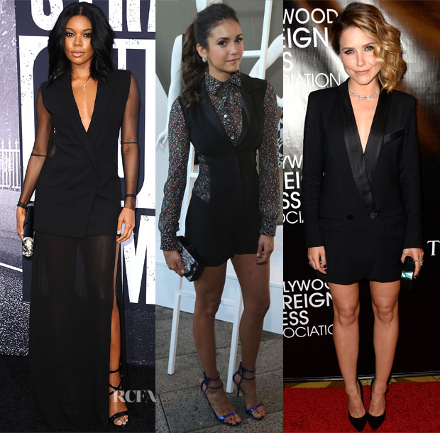 Celebrities Love Tuxedo Inspiration