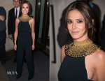 Cheryl Fernandez-Versini In Narciso Rodriguez - Storm Flower Noir Fragrance Launch