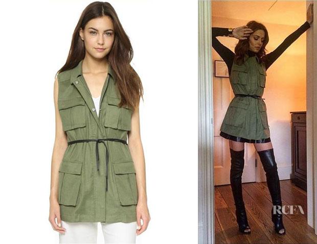 Cheryl Fernandez-Versini's Elizabeth and James 'Nikki' Cargo Vest
