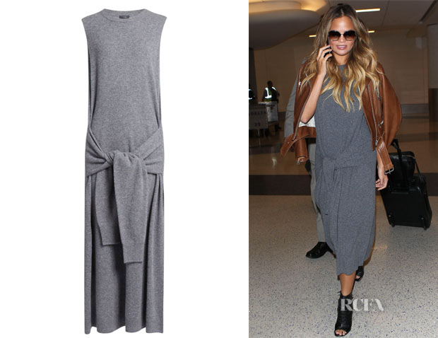 Chrissy Teigen's Joseph 'Elle' Dress