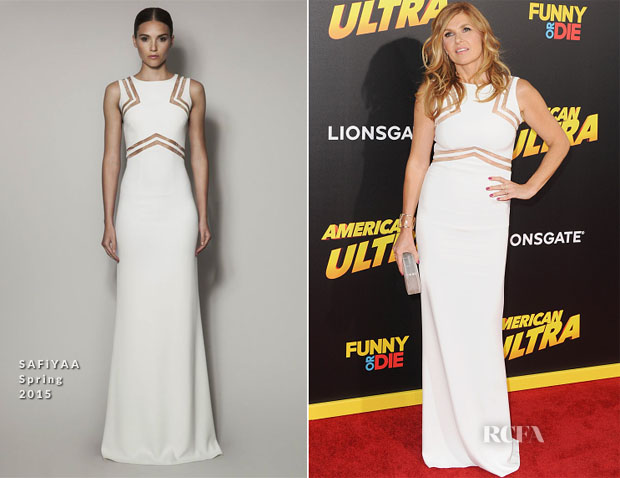 Connie Britton In SAFiYAA S15 - 'American Ultra' LA Premiere