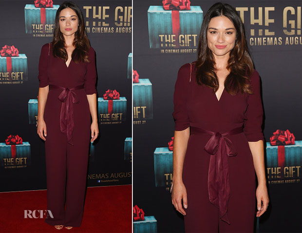 Crystal Reed In Bec & Bridge - 'The Gift' Sydney Premiere