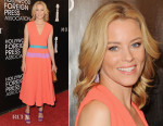 Elizabeth Banks In Roksanda - HFPA Annual Grants Banquet
