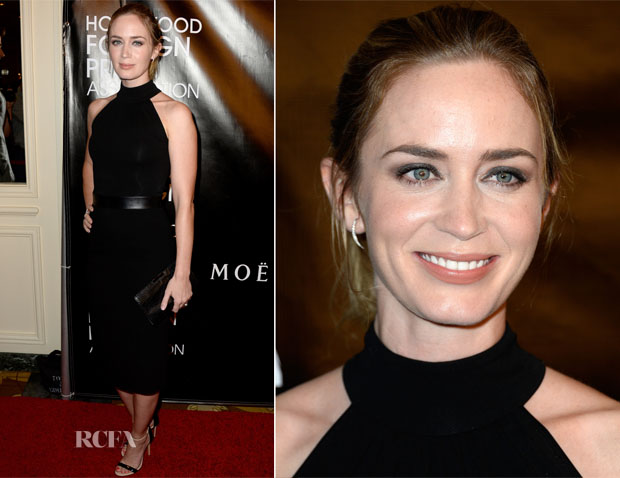Emily Blunt In Michael Kors - HFPA Annual Grants Banquet