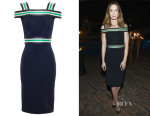 Emily Blunt's Christopher Kane Fitted Dress