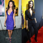 Emily Ratajkowski In Dsquared² & Alexandre Vauthier Couture - 'We Are Your Friends' After Party & Miami Screening