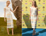 Emma Roberts In Peter Pilotto - 2015 Teen Choice Awards