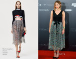 Emma Watson In Christopher Kane - 'Regression' Madrid Photocall