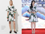 Fan Bingbing In Proenza Schouler - 'Lady of The Dynasty' Press Conference
