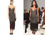 Gabrielle Union's Self-Portrait 'Arabella' Lace Dress