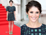 Gemma Arterton In Saloni - 'Gemma Bovery' London Premiere