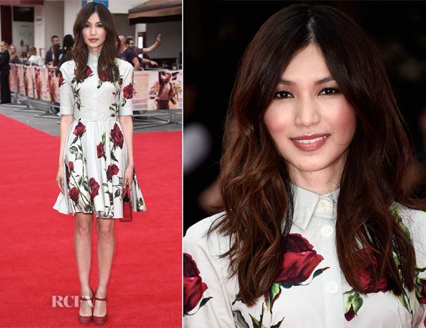 Gemma Chan In Dolce & Gabbana - 'The Bad Education Movie' London Premiere