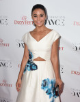 Emmanuelle Chriqui in Lela Rose