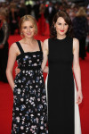Laura Carmichael in Erdem and Michelle Dockery in Valentino