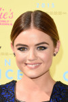 Lucy Hale in Julien Macdonald