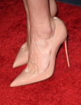 Lake Bell's Christian Louboutin pumps