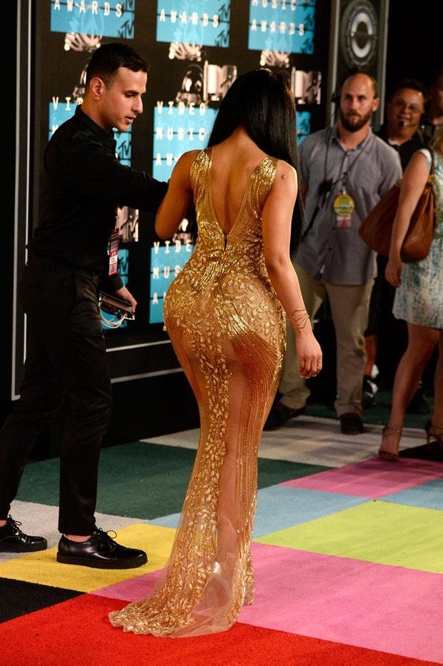 Nicki Minaj 2015 Mtv Video Music Awards Red Carpet